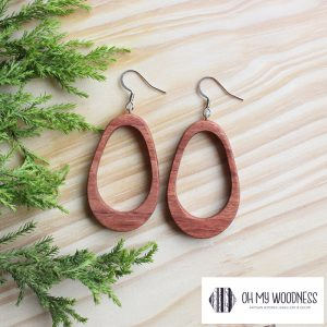 Wooden-earrings-Rosewood-double-ovals