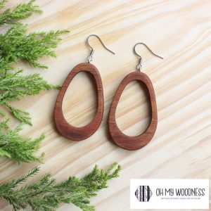 Wooden-earrings-Double-Ovals-Kiaat