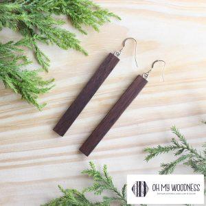 Wooden-earrings-Walnut-Thin-long-Recs