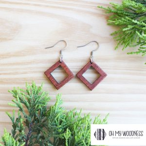 Wooden-Earrings-Rosewood-Double-Squares-small