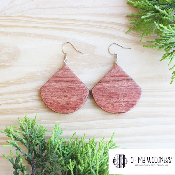 Wooden-earrings-Rosewood-Wide-drops