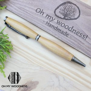Wooden-Pen-Yellow-wood