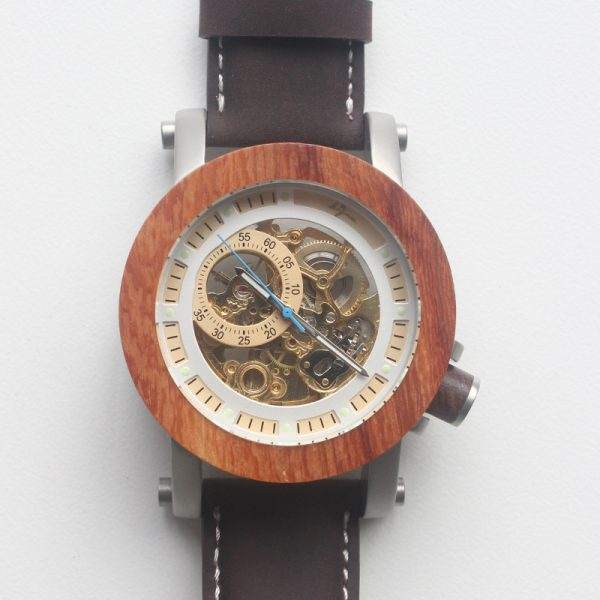 Mechanical-Wood-Watch